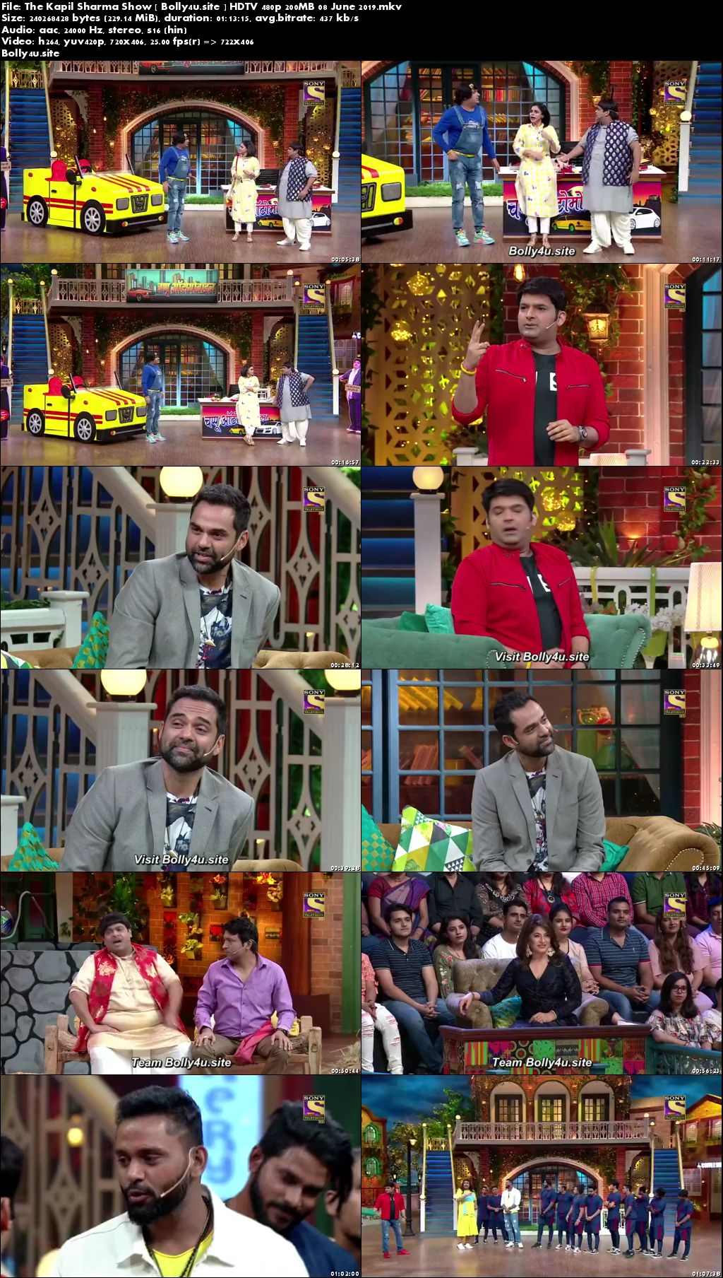The Kapil Sharma Show HDTV 480p 200MB 08 June 2019 Download