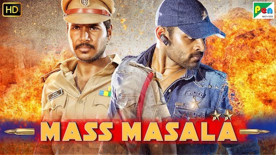 Mass Masala 2019 HDRip 950MB Hindi Dubbed 720p Watch Online Full Movie Download bolly4u