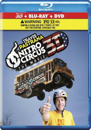 Nitro Circus The Movie 2012 BRRip 1GB Hindi Dual Audio 720p