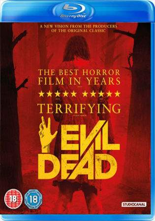 Evil Dead 2013 BRRip 750MB UNRATED Hindi Dual Audio 720p