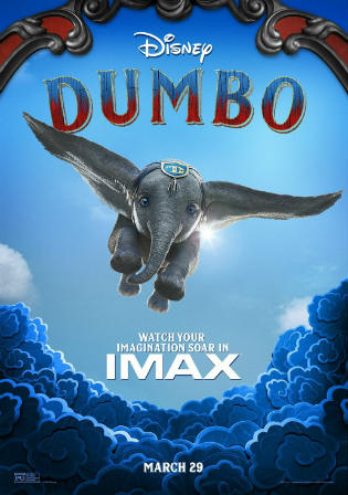 Dumbo 2019 DVDRip 300Mb Hindi Dual Audio 480p Watch Online Full Movie Download bolly4u