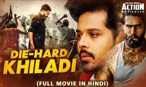 Die Hard Khiladi 2019 HDRip 300MB Hindi Dubbed 480p