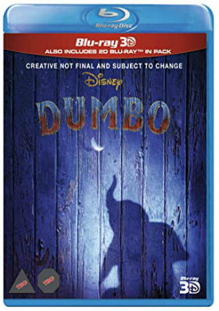Dumbo 2019 BRRip 350MB English 480p ESub