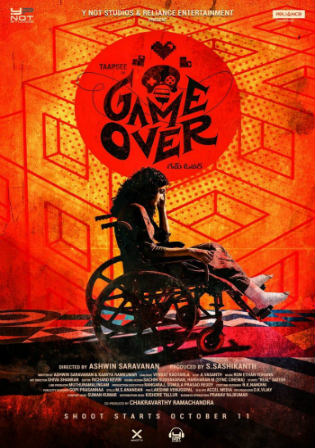 Game Over 2019 Pre DVDRip 300MB Hindi 480p