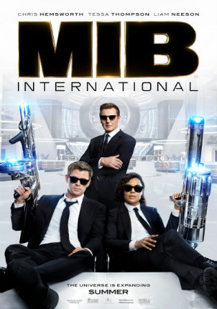 Men in Black International 2019 HDCAM 300MB Hindi Dual Audio 480p