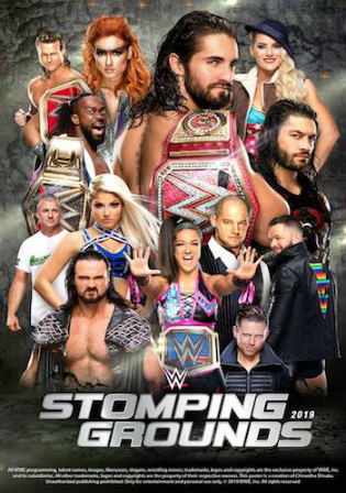 WWE Stomping Grounds 2019 PPV 700MB 480p WEBRip x264
