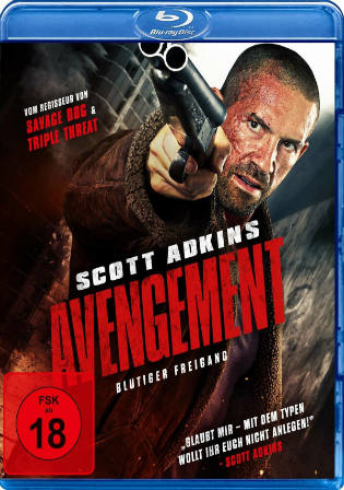 Avengement 2019 BRRip 850MB Engish 720p ESub