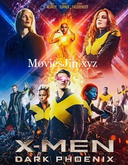 X Men Dark Phoenix 2019 300MB Hindi HDCAM Dual Audio 480p