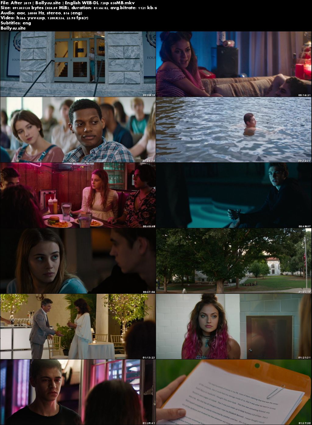 After 2019 WEB-DL 850Mb English 720p ESub Download