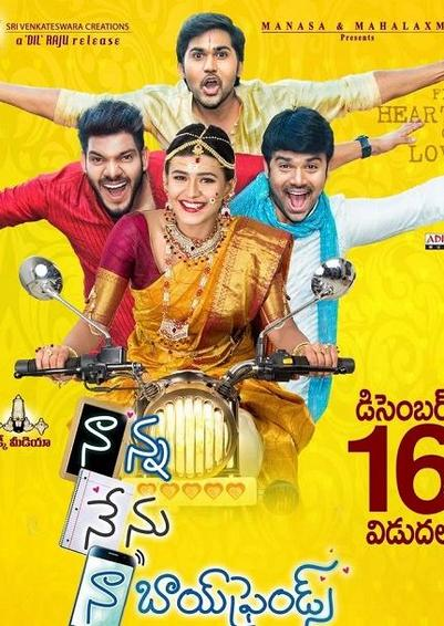 Naanna Nenu Naa Boyfriends 2016 HDRip Hindi UNCUT Dual Audio 720p