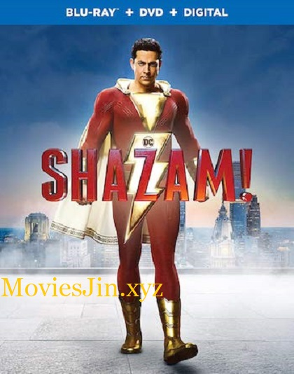 Shazam 2019 BluRay ORG Hindi 400MB Dual Audio 480p