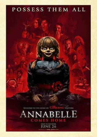 Annabelle Comes Home 2019 HDCAM 300MB Hindi Dual Audio 480p