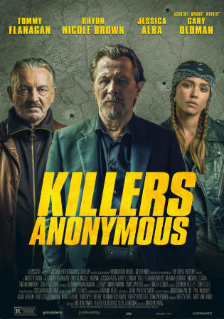 Killers Anonymous 2019 WEB-DL 300Mb English 480p ESub