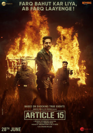 Article 15 2019 Pre DVDRip 300Mb Hindi 480p Watch Online Full Movie Download bolly4u