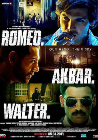 Romeo Akbar Walter 2019 WEB-DL 400MB Hindi 480p ESub