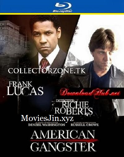 American Gangster 2007 BRRip Hindi 450MB Dual Audio 480p