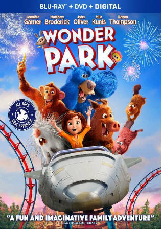 Wonder Park 2019 BRRip 300Mb Hindi Dual Audio ORG 480p Watch Online Full Movie Download bolly4u