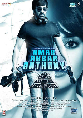 Amar Akbar Anthony 2018 HDRip 1.1GB UNCUT Hindi Dual Audio 720p