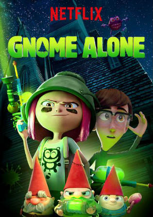 Gnome Alone 2017 WEB-DL 280Mb Hindi Dual Audio 480p Watch Online Full Movie Download bolly4u