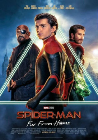 Spider-Man Far From Home 2019 HDCAM 400MB Hindi Dual Audio 480p Watch Online Full movie Download bolly4u