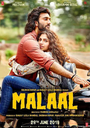 Malaal 2019 Pre DVDRip 700MB Full Hindi Movie Download x264 Watch Online Free bolly4u
