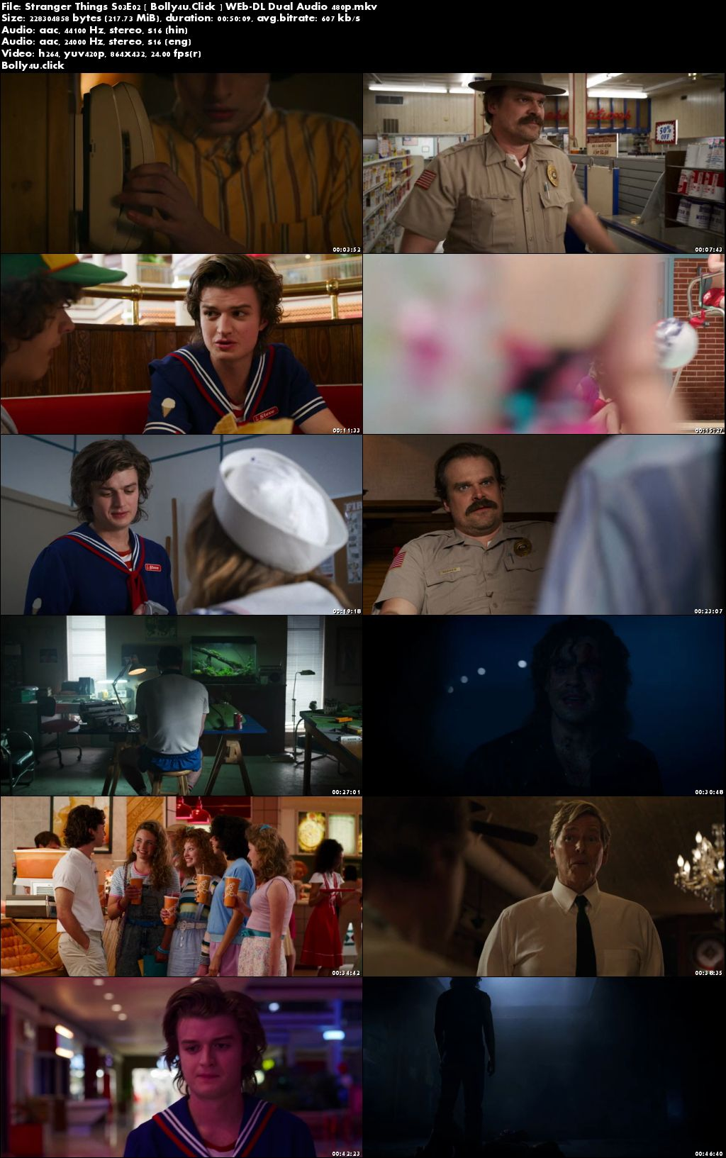 Stranger Things S03 WEB-DL 1.8GB Hindi Dual Audio Complete 480p Download