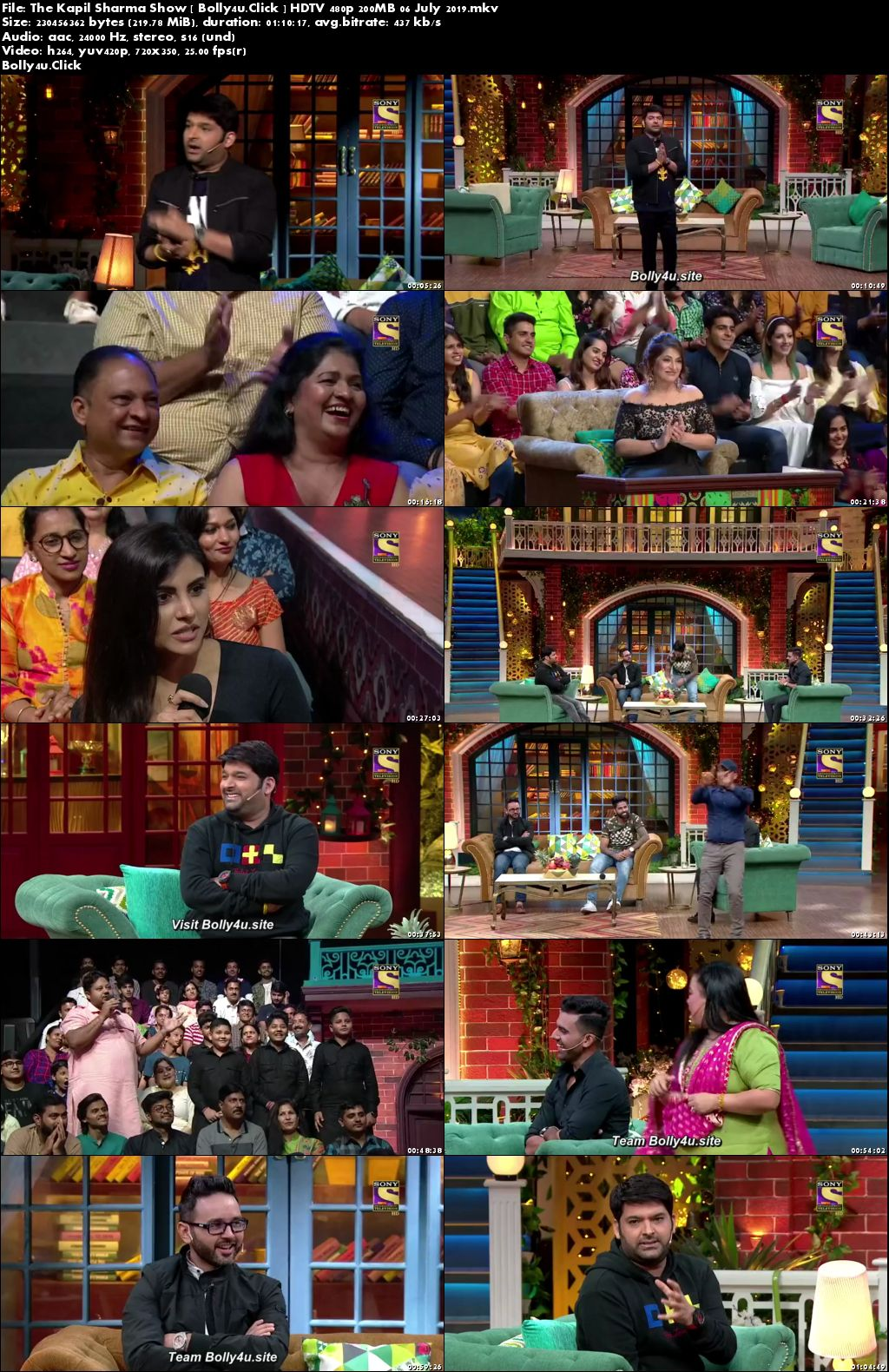 The Kapil Sharma Show HDTV 480p 200MB 06 July 2019 Download