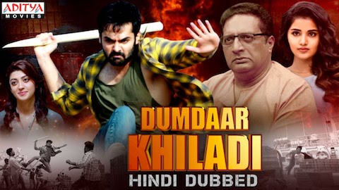 Dumdaar Khiladi 2019 HDRip 950MB Hindi Dubbed 720p Watch Online Full Movie Download bolly4u