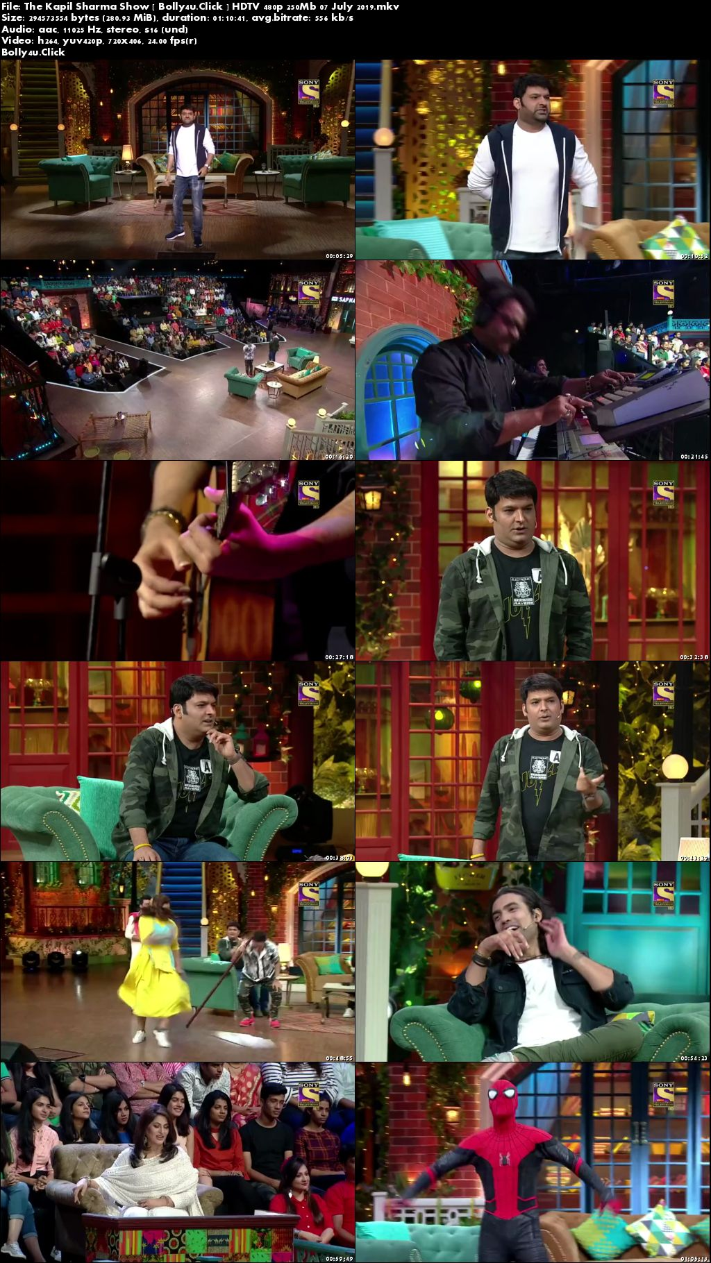 The Kapil Sharma Show HDTV 480p 200MB 07 July 2019 Download