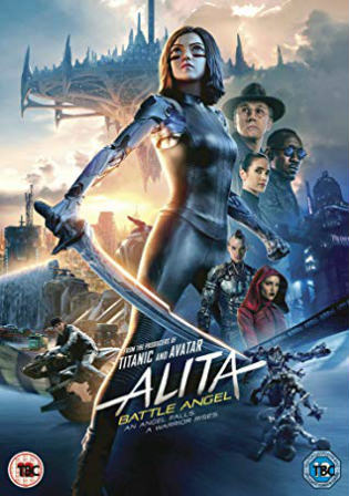 Alita Battle Angel 2019 WEB-DL 300Mb English 480p ESub
