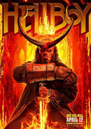 Hellboy 2019 WEB-DL 300MB English 480p ESub