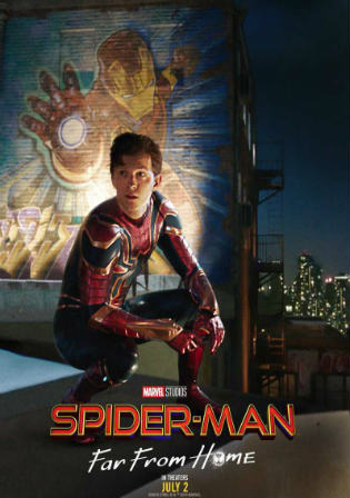 Spider-Man Far From Home 2019 HDTC 300Mb Hindi Dual Audio 480p Watch Online Full Movie Download bolly4u