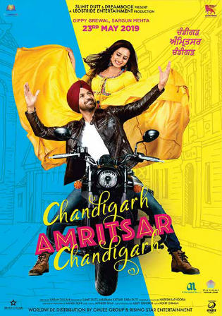 Chandigarh Amritsar Chandigarh 2019 WEB-DL 300MB Punjabi 480p Watch Online Full Movie Download bolly4u