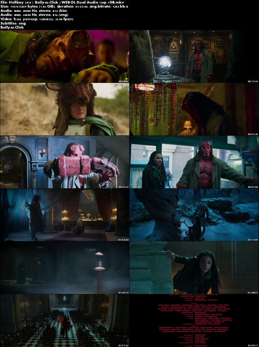 Hellboy 2019 WEB-DL 300MB Hindi Dual Audio ORG 480p ESub Download