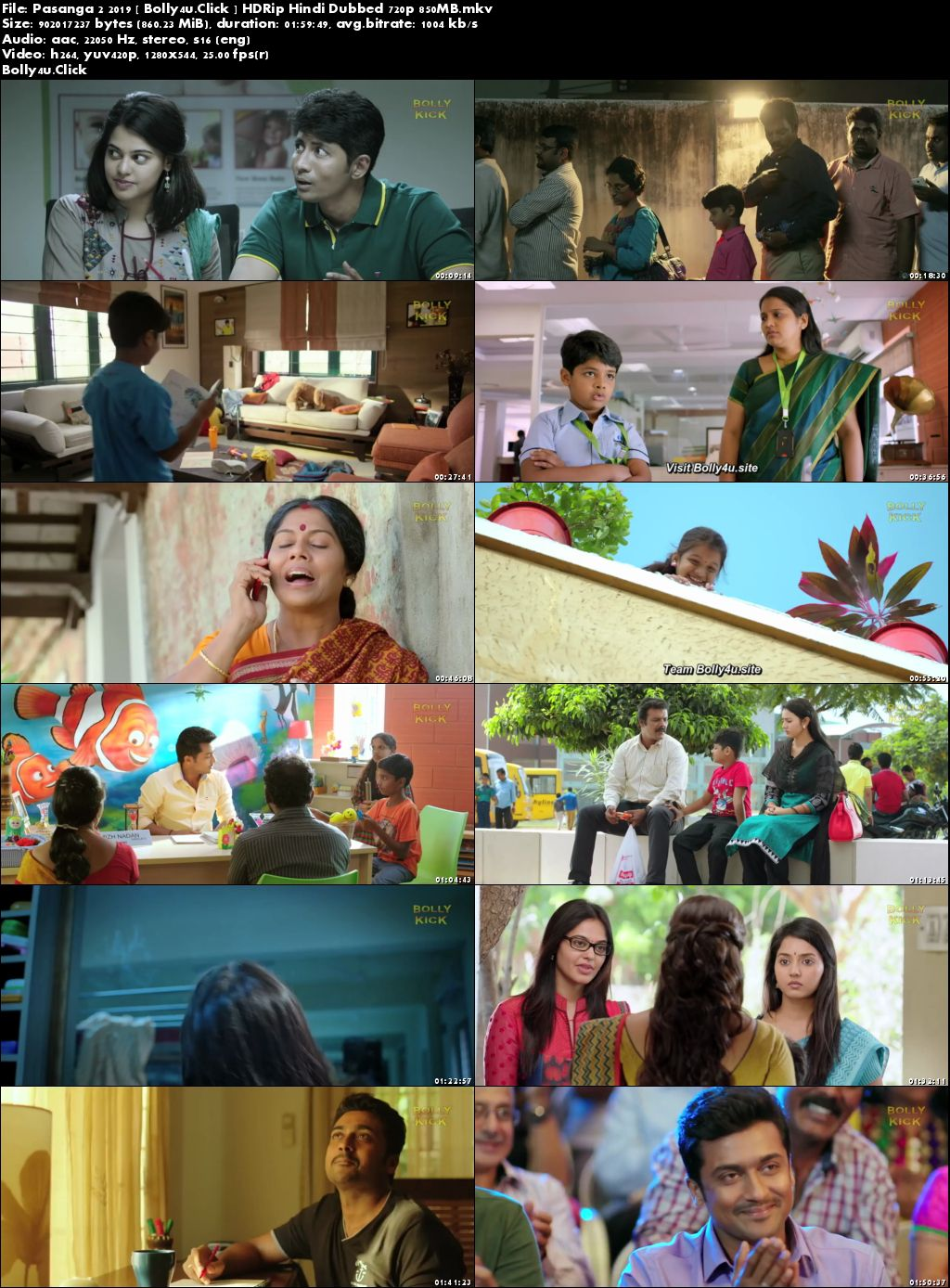 Pasanga 2 2019 HDRip 300MB Hindi Dubbed 480p Download