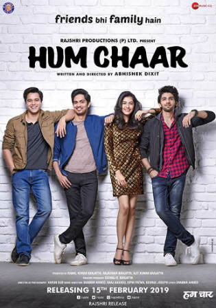 Hum Chaar 2019 HDRip 400MB Full Hindi Movie Download 480p Watch Online Free bolly4u