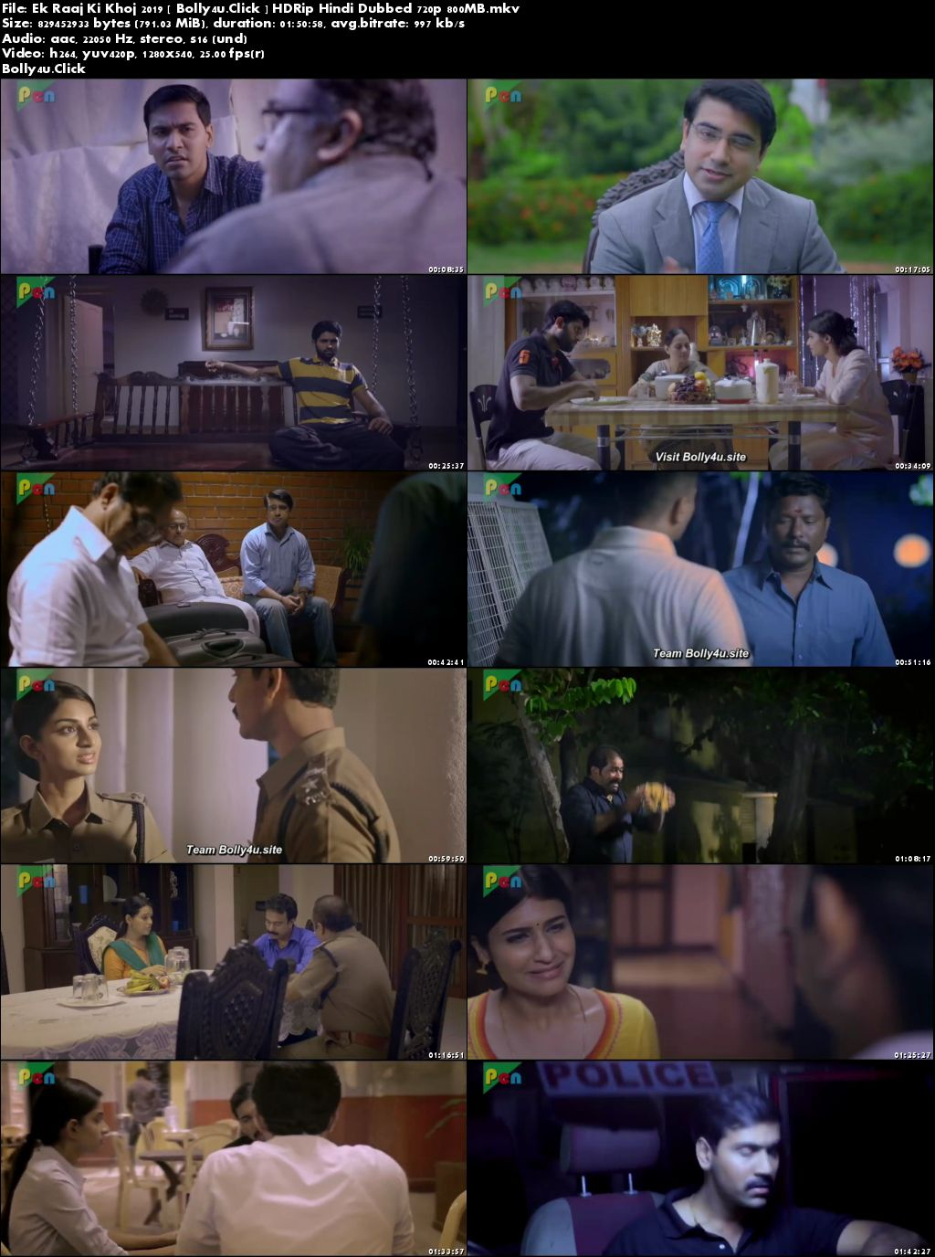 Ek Raaj Ki Khoj 2019 HDRip 300MB Hindi Dubbed 480p Download