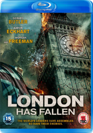 London Has Fallen 2016 BRRip 300Mb Hindi Dual Audio ORG 480p Watch Online Full Movie Download bolly4u