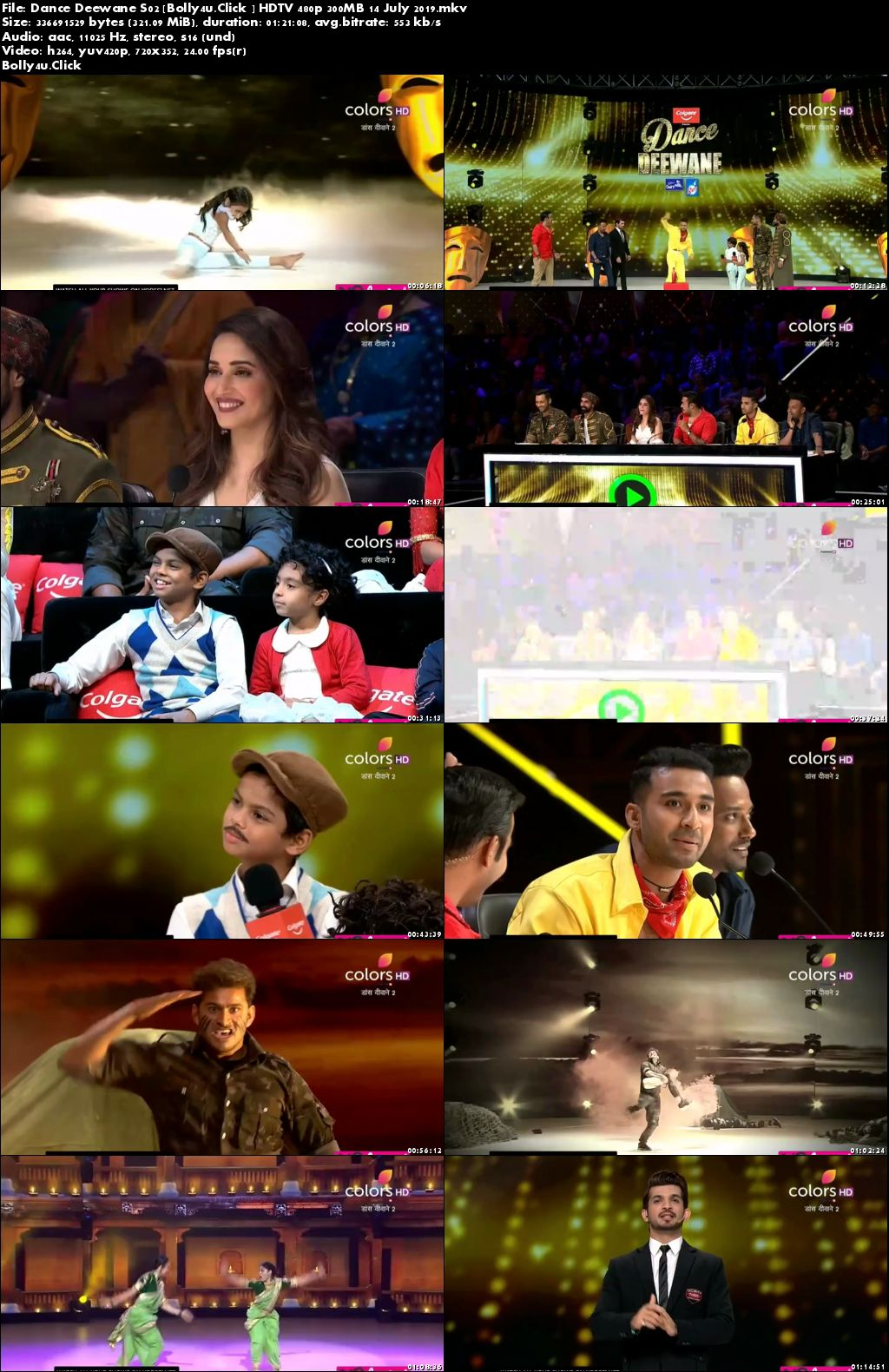 Dance Deewane S02 HDTV 480p 300MB 14 July 2019 Download