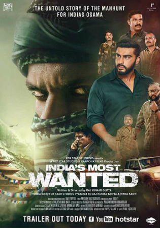 Indias Most Wanted 2019 WEBRip 300MB Hindi 480p ESub Watch Online Free Download bolly4u