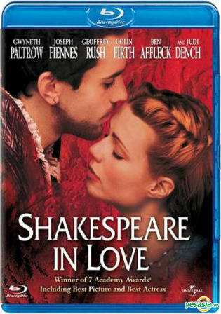 Shakespeare in Love 1998 BRRip 1GB Hindi Dual Audio 720p Watch Online Full Movie Download Bolly4u