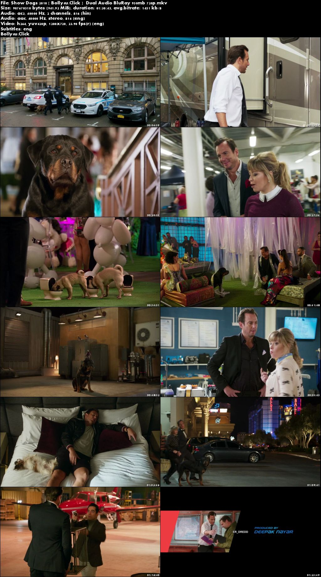Show Dogs 2018 BluRay 950Mb Hindi Dual Audio 720p Download