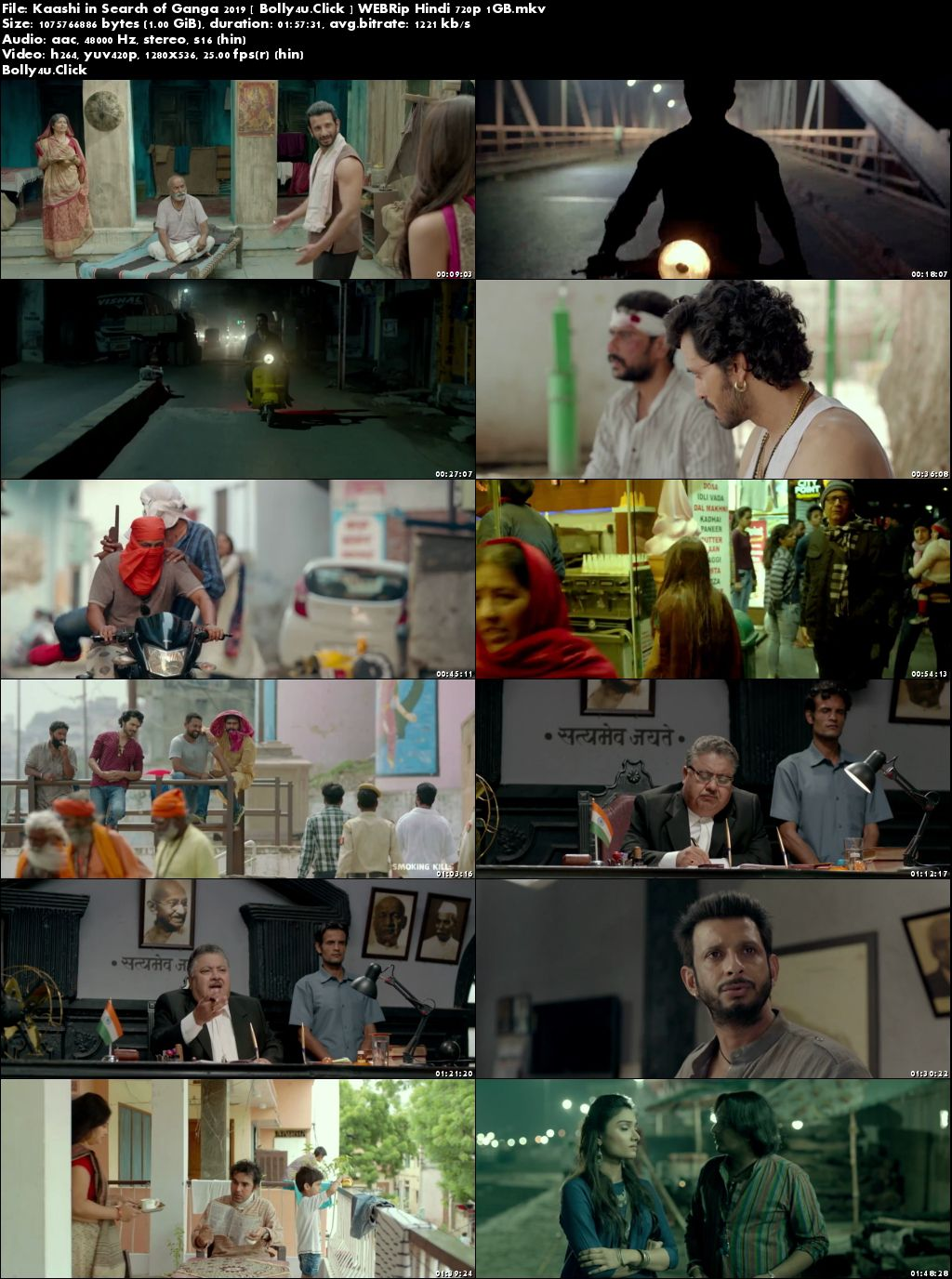 Kaashi In Search Of Ganga 2018 WEB-DL 300MB Hindi 480p Download