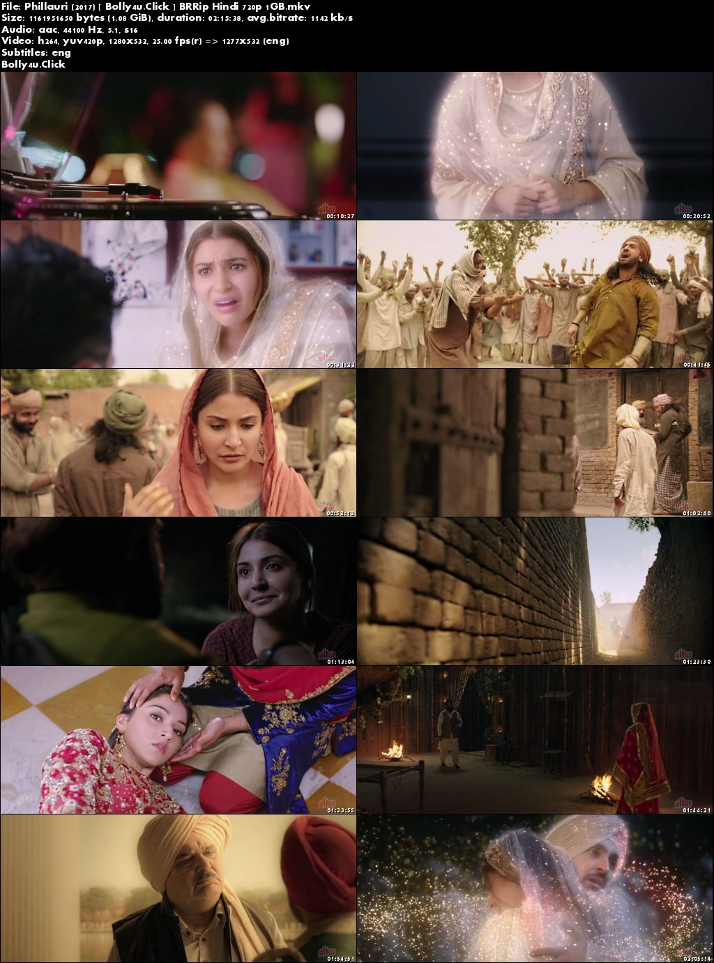 Phillauri 2017 BRRip 400MB Full Hindi Movie Download 480p ESub