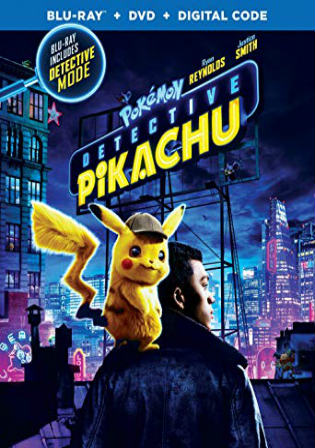 Pokemon Detective Pikachu 2019 BRRip 300Mb Hindi Dual Audio ORG 480p Watch Online Full Movie Download bolly4u