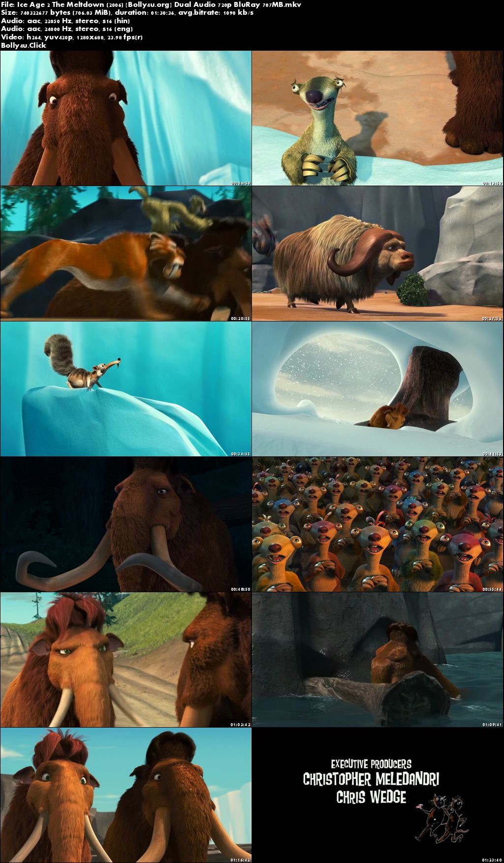 Download Film Ice Age The Meltdown 2006