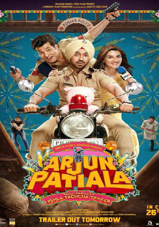 Arjun Patiala 2019 Pre DVDRip 300MB Full Hindi Movie Download 480p Bolly4u
