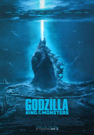 Godzilla King of the Monsters 2019 HC HDRip 950Mb Hindi Dual Audio 720p Watch Online Full Movie Download bolly4u