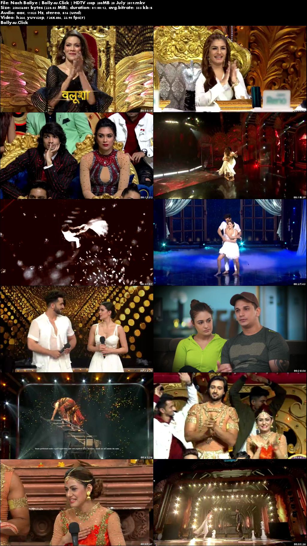 Nach Baliye HDTV 480p 200MB 28 July 2019 Download