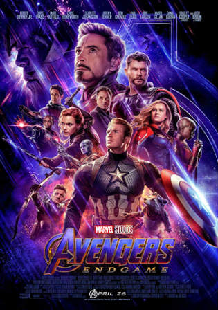 Avengers Endgame 2019 WEB-DL 500MB English 480p ESub